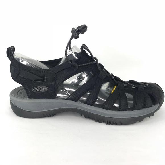 75aa0b5b6e8e Keen Whisper Waterproof Black Magnet Sandals 8